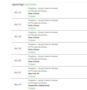 theodora schedule